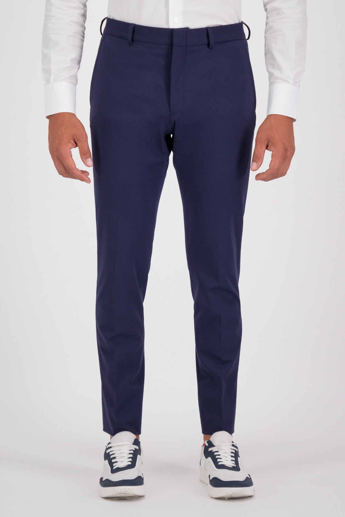 PANTALON VESTIR AZUL MARINO SLIM FIT LMENTAL