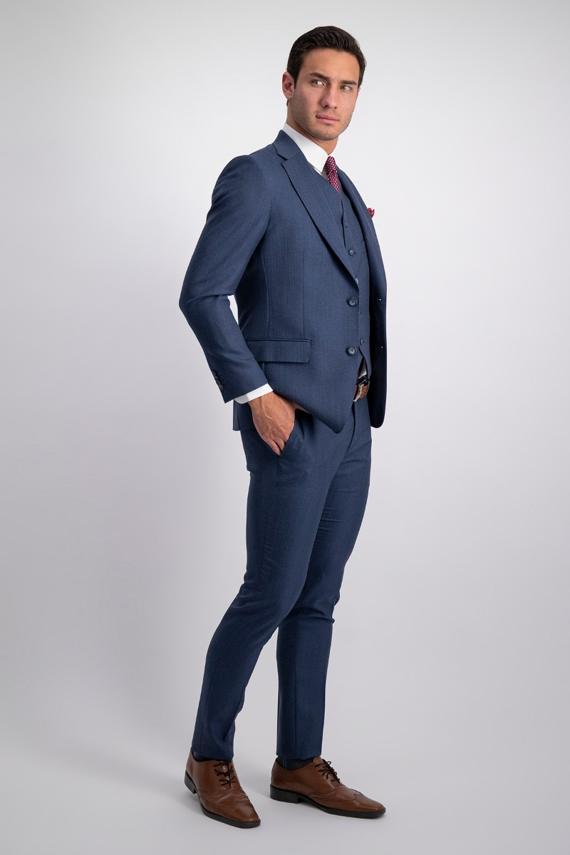 TRAJE TRIO LAMBERTI SLIM FIT