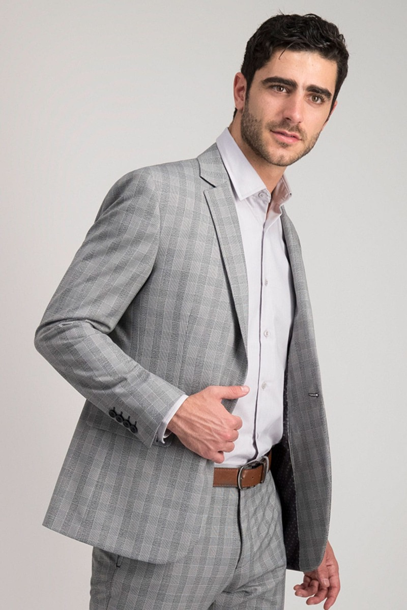 SACO SEPARATE SLIM FIT A CUADROS