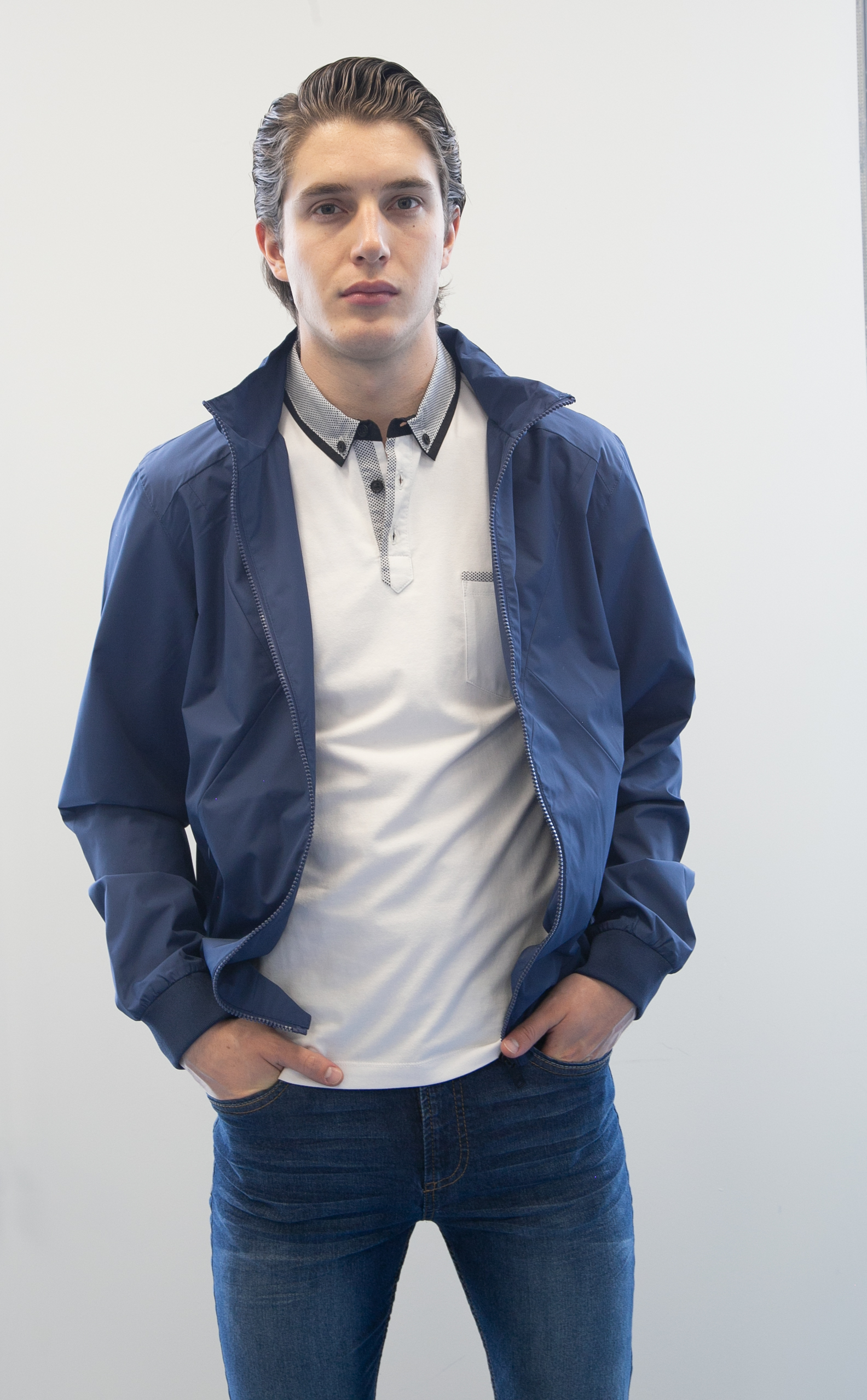 Blue Functional Jacket